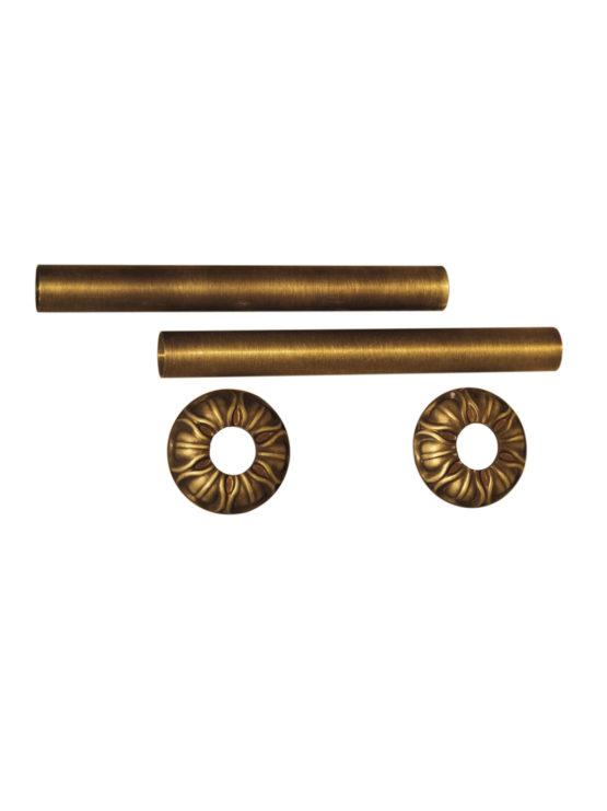 Чугунный ретро-радиатор отопления Carlo Poletti Декоративные трубки
