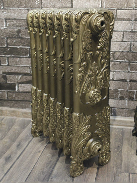 Чугунный ретро-радиатор отопления Retro Style Versailles 500