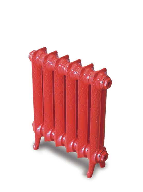 Чугунный ретро-радиатор отопления Exemet Rococo 665/500