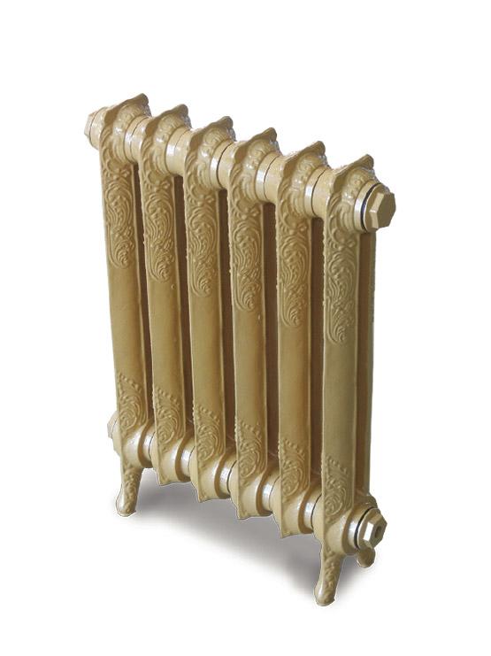 Чугунный ретро-радиатор отопления Exemet Rococo 950/790