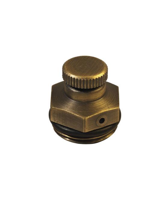 Чугунный ретро-радиатор отопления Carlo Poletti Воздухоотводчик (ручной)