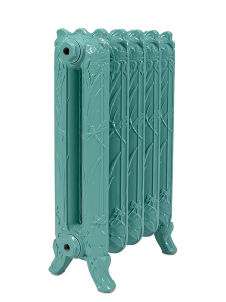Чугунный ретро-радиатор отопления Exemet Pond 670/500